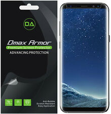 [2-Pack] Dmax Armor [Case Friendly] Clear Screen Protector For Samsung Galaxy S8