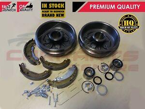 Pour-peugeot-206-1-1-1-4-arriere-tambour-de-frein-chaussures-kit-de-montage-roue-roulements-no-abs