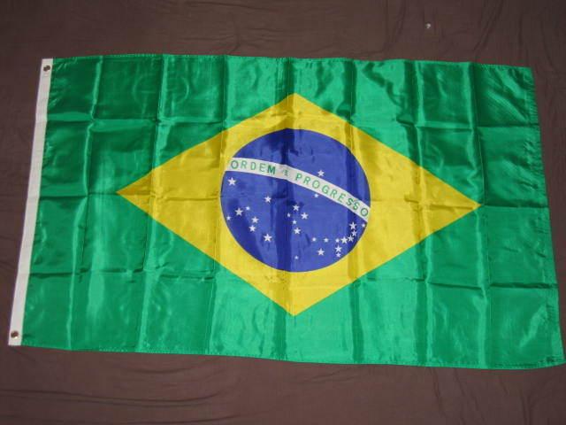 3X5 BRAZIL FLAG BRAZILIAN FLAGS COUNTRY NEW BANNER F065