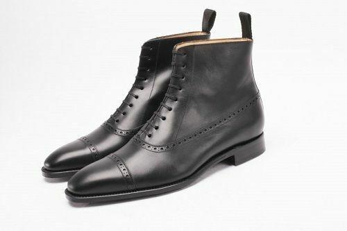 botas para hombre correa cuero negro hechos a mano Chelsea Tobillo Zapatos Informales Ropa Formal