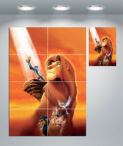 The Lion King Classic Movie Giant Wall Art Poster Print