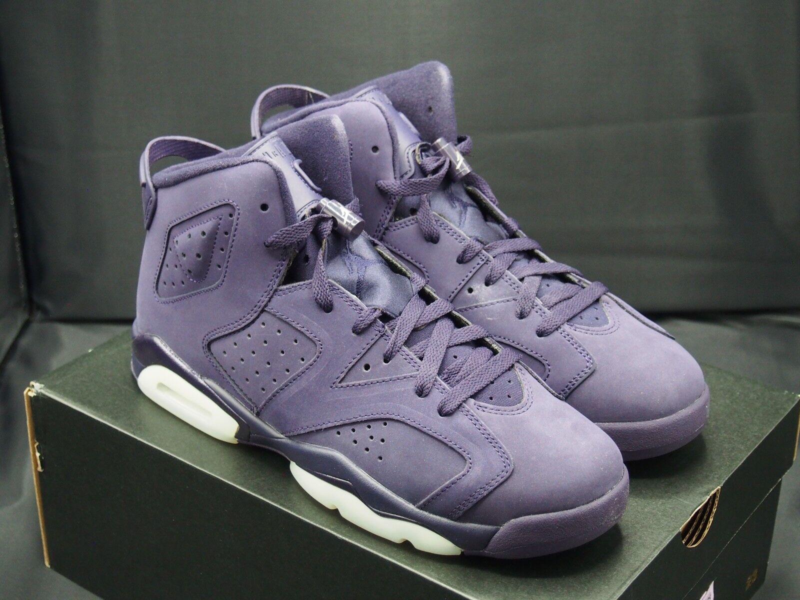 Nike air jordan vi dinastia dimensioni 543390-509 6 retrò viola