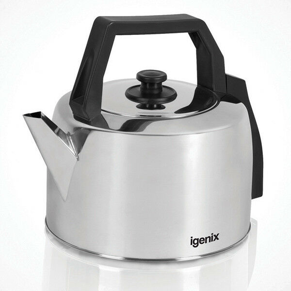 Igenix IG4350 Traditional Catering Kettle, Corded, 3.5 Litre