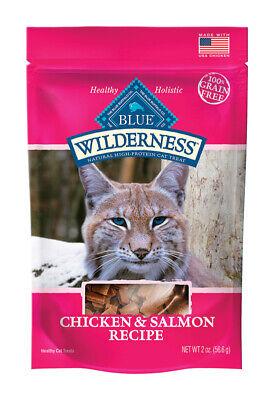 Behendig Blue Buffalo Blue Wilderness Chicken And Salmon Cat Treats 1 Pk 2 Oz.