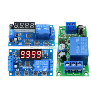 DC-12V-Digital-3-4-Button-LED-Trigger-Cycle-Automation-Delay-Timer-Relay-Module