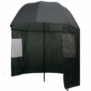 vidaXL-Angelschirm-300x240cm-Anglerschirm-Regenschirm-Schirmzelt-Seitenwand