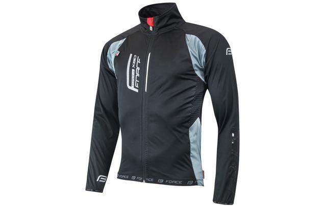 X80 Softshell Ciclismo FORCE Giacca NeroGrigio Taglia L miglior Prezzo Regno Unito GRATIS P&P