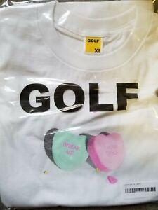 "79ad6edbce10 Golf Wang ""Break Me"" White Tee - Size XL- 100% AUTHENTIC - TYLER THE ..."