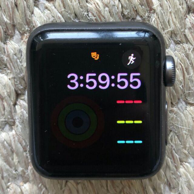 Apple Watch Series 2 38mm Aluminum - (MP0D2LL/A) OG Box / Bad Battery AS IS
