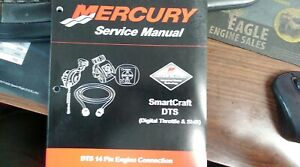 MERCURY MANUAL FOR SMARTCRAFT DIGITAL THROTTLE AND SHIFT 14 PIN ENGINE CONNECTOR