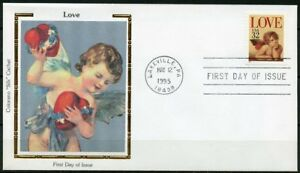 UNITED-STATES-COLORANO-1995-LOVE-SET-OF-TWO-FIRST-DAY-COVERS