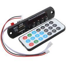 12V MP3 WMA Decoder Board Wireless Bluetooth USB TF FM Radio Audio Per Auto Kit