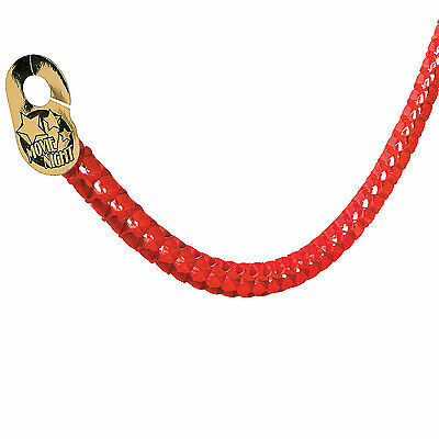 HOLLYWOOD STAR RED CARPET PARTY DOORWAY TISSUE ROPE BANNER STREAMER DECORATION