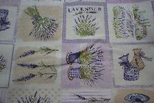 Dekostoff   0,50 x 1,40 Lavendel