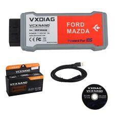 VXDIAG VCX NANO for Ford/Mazda 2 in 1 with IDS V104 ECU Reprogram Diagnosis Tool