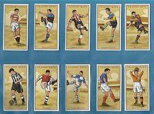 cigarette/trade cards - CLASSIC FOOTBALL KITS (Football Team Colours) Full set