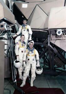 8x10 Print NASA Crew Apollo Saturn 204 Astronauts 1967 ...