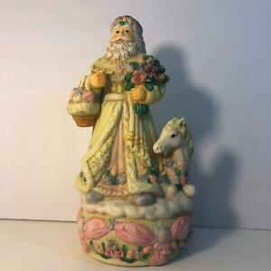 Victorian Santa Music Box 1996  (B1)
