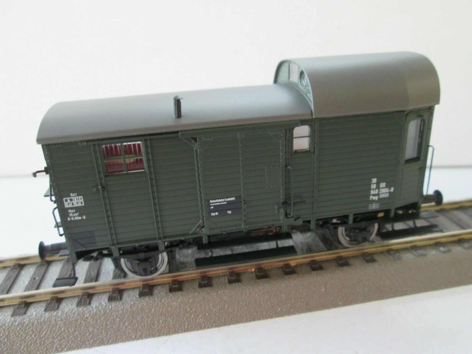 Brawa 49417 Cochero de tren de Cochega DR H0