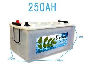 Logique Bateria Solar Fotovoltaica Monoblock 250ah 12v Alta Calidad