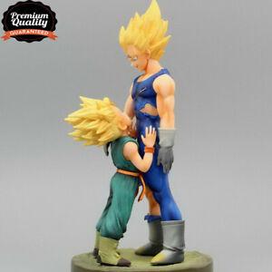 8/'/'Dragon Ball Z Super Saiyan Vegeta and Trun Father With Son Goku Action Figure