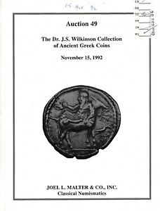 LAC-L1188-Joel-L-Malter-amp-Co-AUCTION-49-The-Dr-J-S-Wilkinson-Collecti