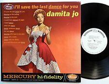 DAMITA JO I'll save the last dance LP Mercury PROMO 1961 Rn'B Soul  Mg809