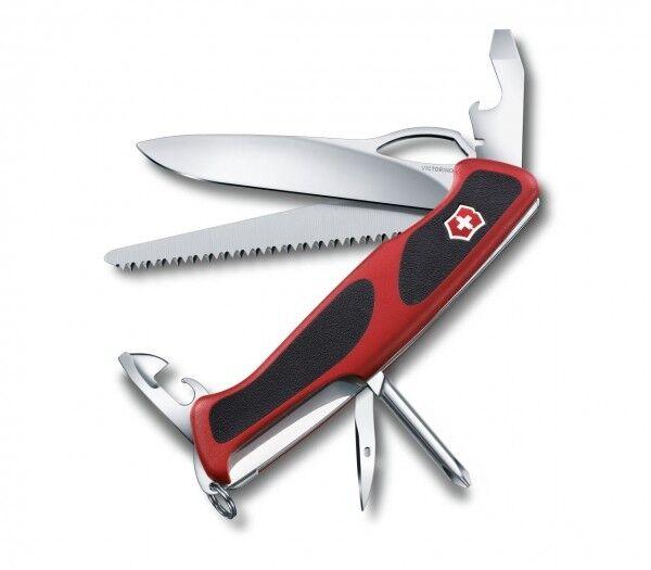 Victorinox 0.9663.MC Ranger Grip 78 Messer Grosses Taschenmesser 12 Funktionen  | Hohe Qualität und geringer Aufwand