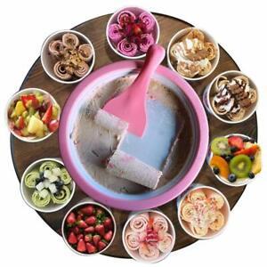Roll-ghiaccio-stesso-fare-eisrollen-gelato-macchina-ICE-Rolls-DIY-Set