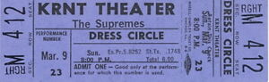 THE-SUPREMES-1969-TOUR-UNUSED-KRNT-CONCERT-TICKET-DIANA-ROSS-NM-2-MINT-No-2
