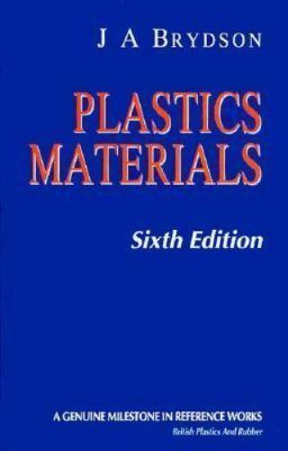 Plastics Materials Hardcover J. A. Brydson