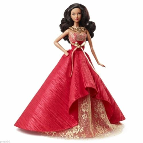 2014 Holday Barbie BDH14- IN HAND /& READY TO SHIP Africian American--