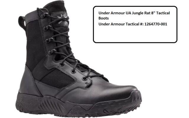 37e15c0e33e Under Armour Jungle Rat 10 Black BOOTS 126477000110