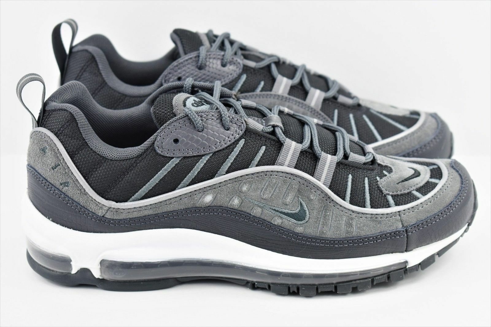 Nike Air Max 98 SE Men's shoes Black Anthracite Grey AO9380 001 SZ 6.5US
