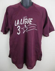 retro Liga de hombre Jersey Jersey Sports superior malla Vtg camisa para Xl Maglia Vintage CFwFqZX