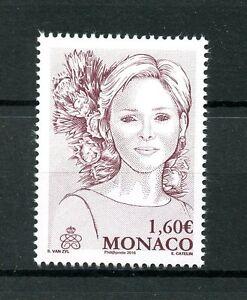 Monaco 2015 MNH Princess Charlene of Monaco 1v Set Royalty Stamps