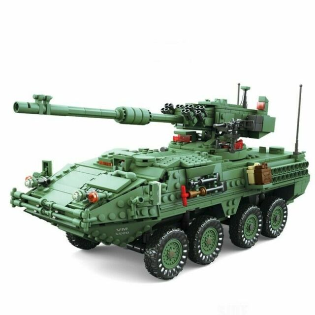Armored Vehicles For Sale >> Kazi 1672pc Century Military Armored Vehicles Mgs M1128 Tanks Building Block