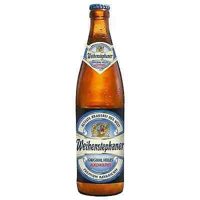 Weihenstephan Alkoholfrie Original Lager 500mL Weihenstephaner case of 12