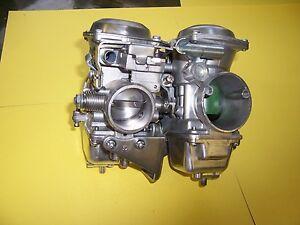 Yamaha virago xv 700 set of hitachi carbs carburetors 1984 1985 ebay image is loading yamaha virago xv 700 set of hitachi carbs fandeluxe Images