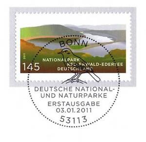 Copieux Rfa 2011: Parc National Kellerwald-edersee Nº 2841 Avec Cachet De Bonn! 1a! 155-rsee Nr. 2841 Mit Bonner Stempel! 1a! 155fr-fr Afficher Le Titre D'origine Clair Et Distinctif