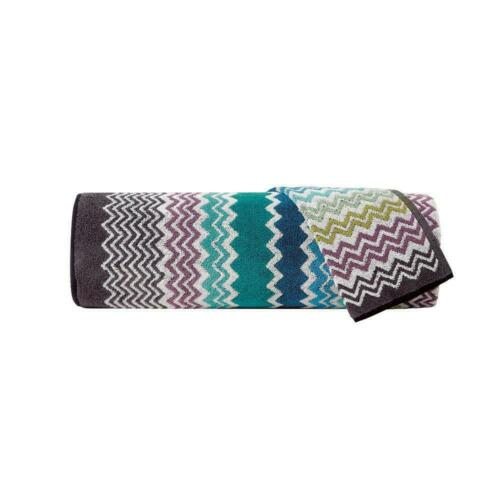 Missoni Home SALE 2 piecies bath /& hand towels Rufus 170 blue