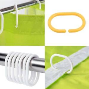 Top-spring 24Packs Shower Curtain Hooks with Clip Stainless Steel Rustproof