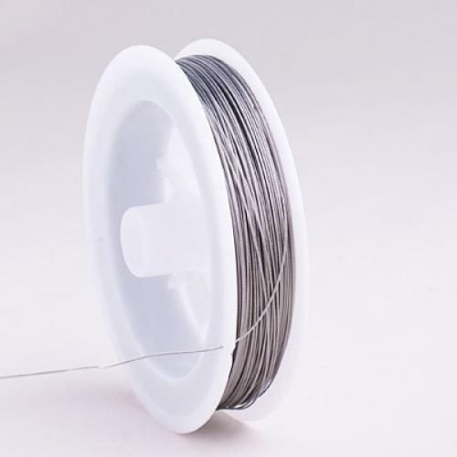 1 Roll Tiger Tail Beading wire 0.45MM BARGAIN 80 Meter
