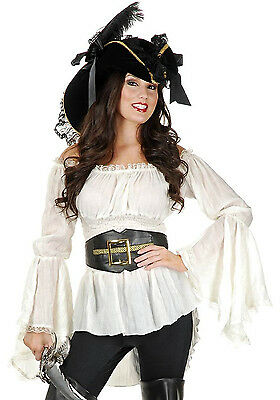 Pirate Belt Buccaneer Captain Halloween Costume Accessory Adult Men CH60488