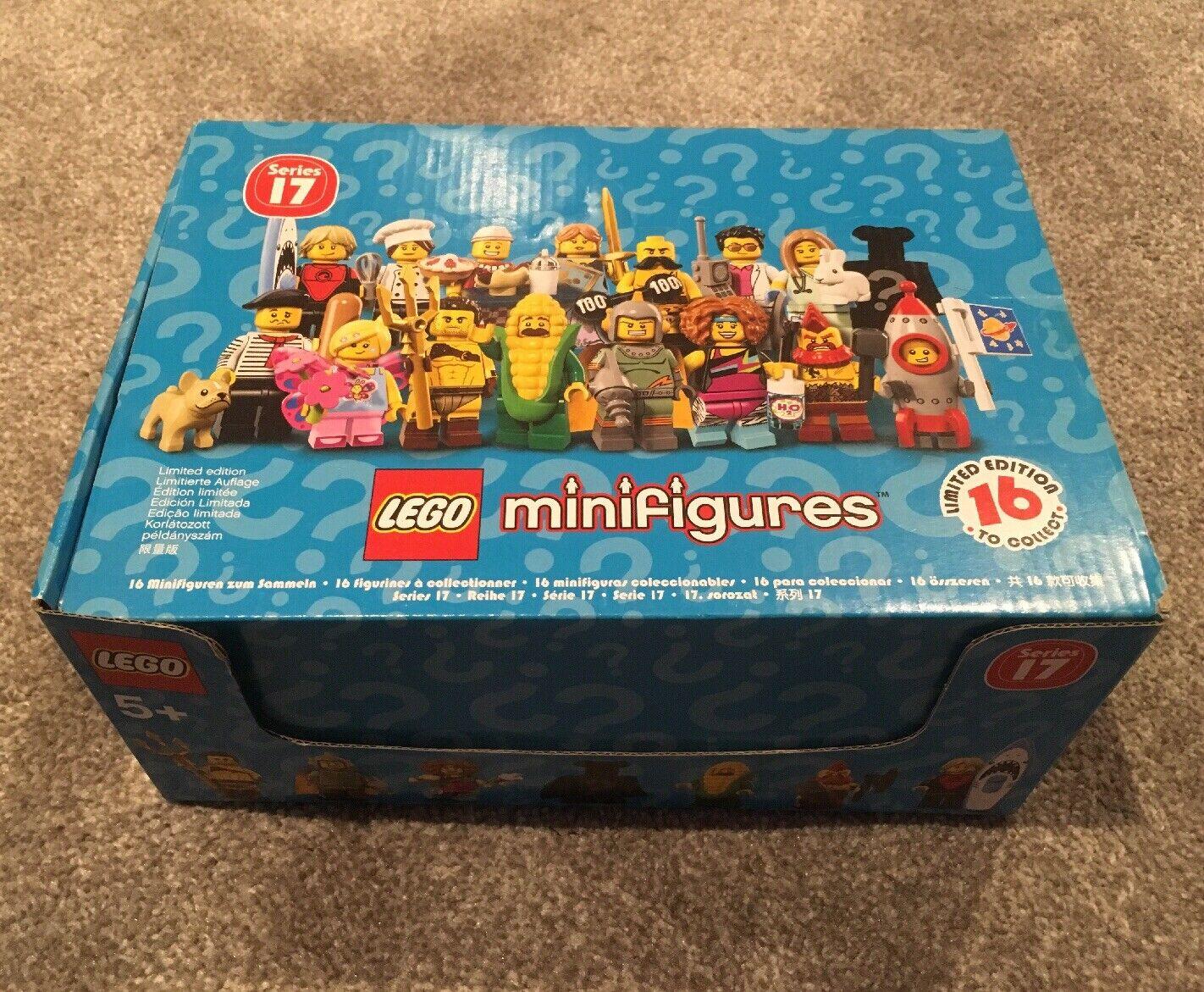 LEGO Series 17 Minifigures    71018   Brand nouveau & Sealed   Box of 60 sacs    juste l'acheter