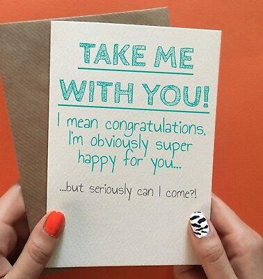 Cheeky Zebra Funny Leaving Cards New Job Goodbye Coworker ...
