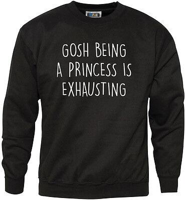 Gosh étant une princesse est épuisant-fashion tumblr t-shirt tee