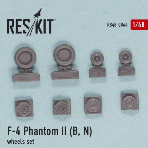 ResKit 480064 1/48 F-4B/N Phantom II Wheels Set