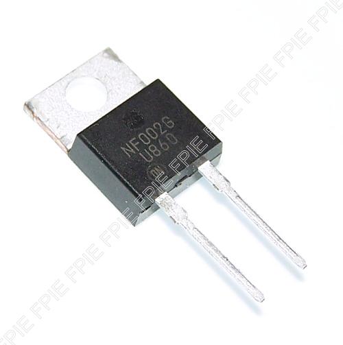 10 x MUR860 U860 ULTRA FAST RECTIFIERS TO-220-2 600V 8A