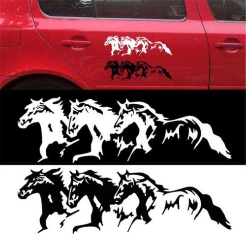 Wild Horses Running Wall Decal Sticker Car Truck Window Body Sticker Decor T